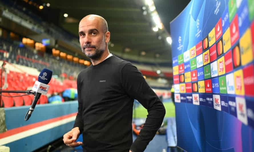Trust yourselves Guardiola tells Man City to see off PSG
