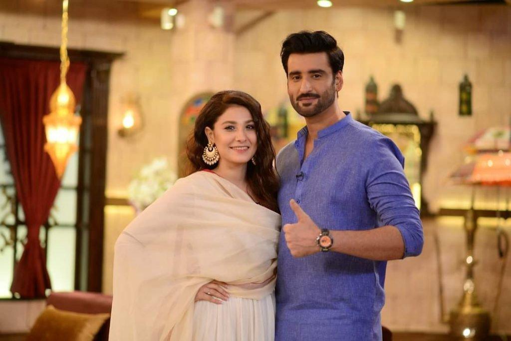 When Hina met Aagha